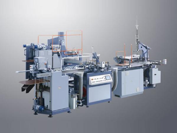 rigid box making machine